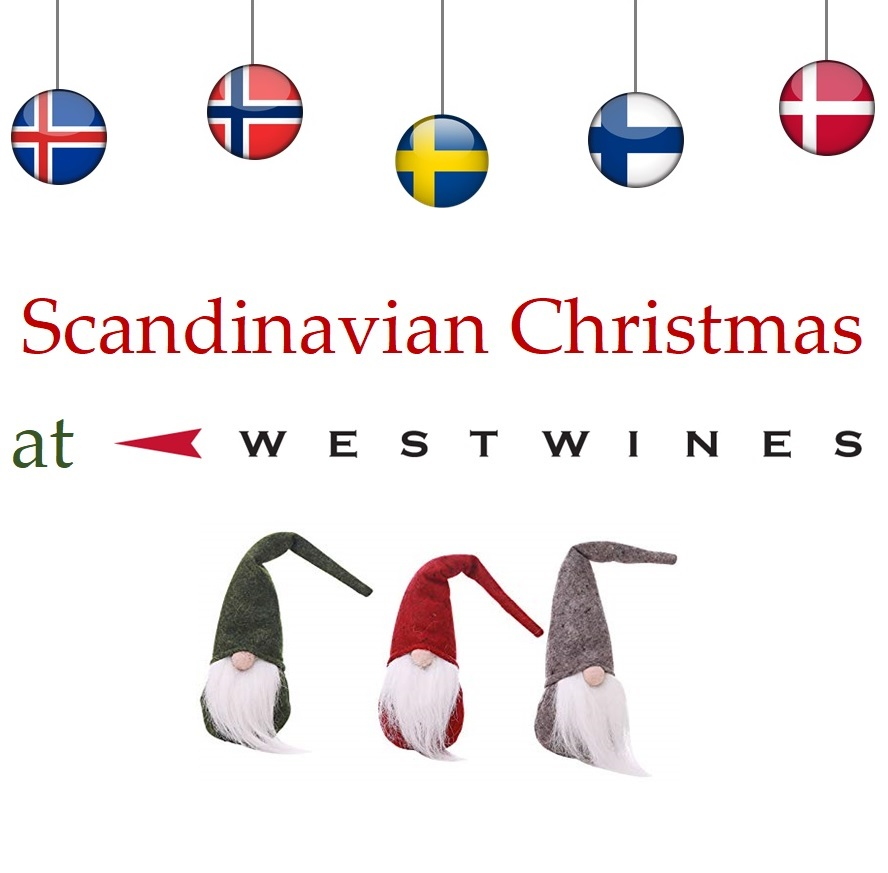 Scandinavian Christmas in the tasting room